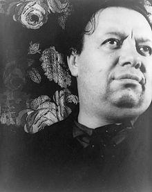 Porträt Diego Rivera.
